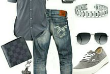 Uomini moda casual