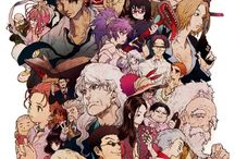 A N I M E / Hunter x Hunter, Tokyo Ghoul, Death Note, One Punch Man, Little Witch Academy, Fairy Tail, etc.