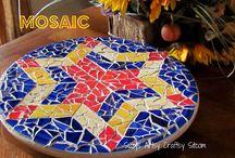 Mosaics / Mosaic for Flower pots, pavers etc