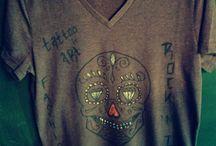 Hand Drawn Tshirts / Fashion Rocks designer