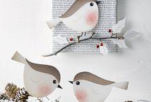 Papierwelt Weihnachten