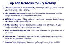 Buy Nearby - Shop Local - Downtown Traverse City / We are proud to be a family owned and operated business for over 100 years! Buy Nearby with us!