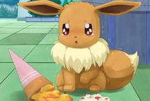 eevee mania / eevee well i really love this pokemon and her\his evol forms like ice grass dark and more