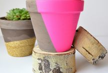 DIY Pots and vases / by Itala Pedrazzini Losada