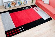 schönes rotes Zuhause / Rote Teppiche hinterlassen ein bleibenden eindruck und können ein schtes High·light in Ihrem Zuhause sein.