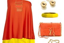 Tangy Tangerine / by French Cuff Boutique