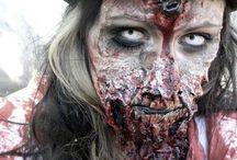 Félelmetes makeup