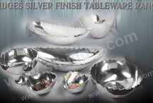Aluminium Mountains Ridges Tableware Ranges / Aluminium Tablewares,Dinnerware,homeware,bowls,jug,vase,nut bowl,serving dish,punch bowl,table bowl,serving bowl,abstract bowl,decorative bowl,candle holder,enamel bowl