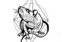 tattoo rat