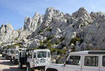 Velebit Kroatien / Der Velebit ist das vierhöchste Gebirge in Kroatien und ein einmaliges Naturerlebnis. Diese Landschaft besticht durch wunderschöne Felsformationen und diente auch als Kulisse für die Winnetou-Filme.