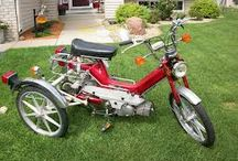 Vintage Bikes and Trikes