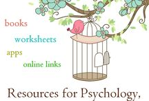 Counseling Worksheets & Self Help Ideas