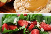 Sunde snacks og morgenmad
