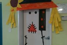 Classroom door deco