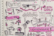 Sketchnoterie / Collection of my favourite sketchnotes ✏️