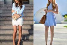 Serenity Blue - Fashion / Inspiration Serenity Blue - Fashion  moda, fashion, trend, blogger, toda charmosa