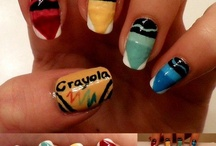 Nails!! / Wish I could be magical and make my nails look like these! / by Autumn