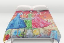 arty duvets / my art for sale as duvet covers