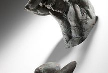 sculptures - clay, stone etc
