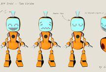 Little Bit Robot / Little Bit Robot