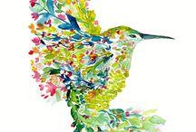 Pequeño colibrí