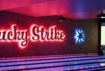 Lucky Strike Lanes / Lucky Strike provides a unique entertainment of art, music and other energetic crowd.