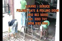rolling door folding gate panggilan servis jual bongkar pasang jakarta 0...