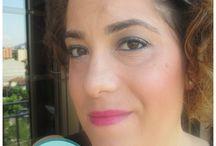 Maquillaje con toque de verde / Maquillaje dando protagonismo a la línea superior de las pestañas y la waterline con verde