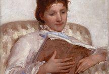 lesende Frauen