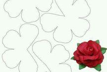 fiori feltro