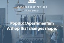 PopUp@Apartimentum / We offer 25 square meters flexible sales space in our Commercial Space at Apartimentum. Short term lease starts from 5 days. For further information visit www.apartimentum.com/sites/popup.html or contact us at popup@apartimentum.com.