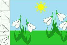 tavaszi ötletek - tavaszi virágok