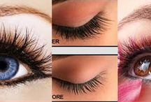 Egyptian Eye Lash extensions / eye lash extensions beauty make up