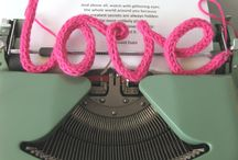 knitted words