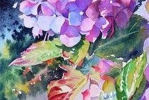 Bunga cat air