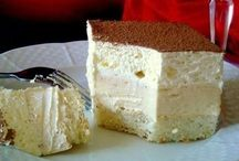 šlehačkový koláč