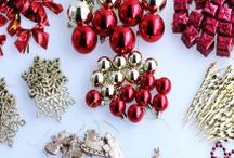 Christmas Crafting / All the craft materials you need to create that #winterwonderland or keep those kiddies entertained during the holidays! It's never to early to start!