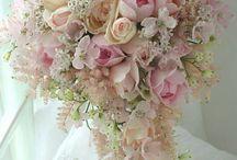 Brude Blomster buket