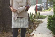 Fall outfit / Fluffy scarf and nice layer