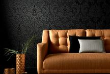 Interiors / Stunning wallpaper