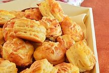 sütemények, pogácsák