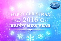 Merry Christmas and New Year / Merry Christmas and New Year 2016 #Christmas #Newyear #2016
