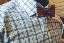 The bow tie. / Celebrating the bow tie.