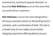 Hair Delicious South Africa, since 2008