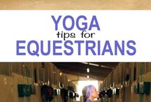 Exercises for horse riders / Ideas for classes we could deliver at Stepney.