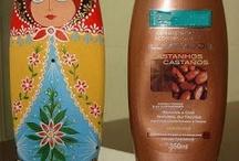 Frascos shampoo