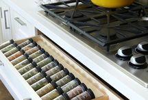 Организация, хранение на кухне