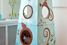 Pet Furniture  / Pet Furniture that is fun for your pet and beautiful in your home!