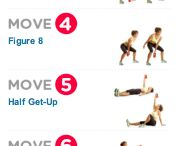 Kettle bell exercises