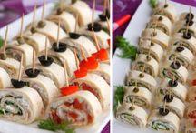 party jídla